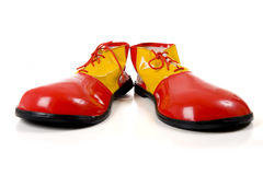 Free Clown Shoes On White Royalty Free Stock Photo - 9095065