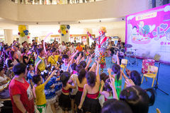 Clown show Stock Photo