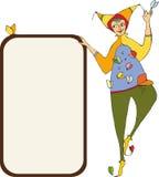 Clown Signboard Royalty Free Stock Photo