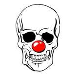 Clown skull Stock Photography