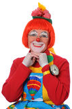 Clown Smiling Stock Photo