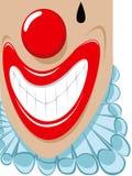 clown som smilling Fotografering för Bildbyråer