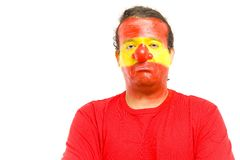 Clown Spanish Supporter Stock Photos