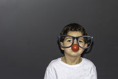 Clown surdimensionné Glasses Photos stock