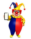 Clown with Tab Stock Photography
