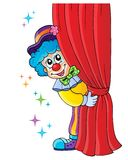 Clown thematics image 1. Eps10 vector illustration Stock Images