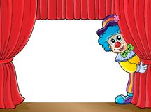 Clown thematics image 3 Royalty Free Stock Photo