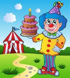 Clown theme picture 1 Stock Photo