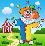 Clown theme picture 7 Royalty Free Stock Images