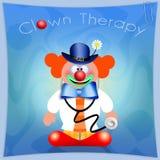 Clown Therapy Image libre de droits