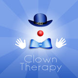 Clown Therapy Royalty Free Stock Photos