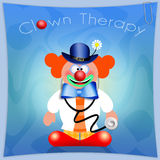 Clown Therapy Royalty Free Stock Image