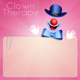 Clown Therapy Stock Photography