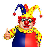 Clown with Thumbs up pose Royalty Free Stock Photos