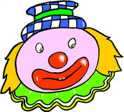 Clown to colours Royalty Free Stock Photography
