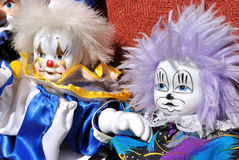 Clown toy Royalty Free Stock Image