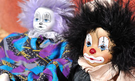 Clown toy Stock Images