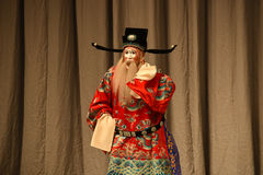 "Clown traitor- Beijing Opera"" Women Generals of Yang Family"". This opera tells a patriotic story how does an old woman of a hundred years old go out for a Royalty Free Stock Photography"