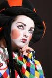 Clown Triste Photographie stock