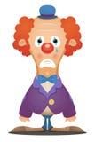 Clown triste illustration de vecteur