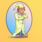 Clown triste Image libre de droits