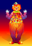 Clown in trousers Royalty Free Stock Photos