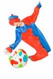 Clown und Kugel Stockbilder