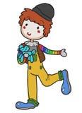 Clown vector hand drawn Stock Photo