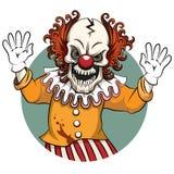 Clown vector illustration Royalty Free Stock Photos