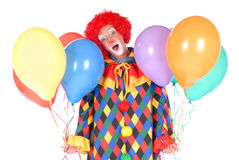Clown, veille de la toussaint Photo stock