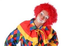 clown veille de la toussaint Photographie stock libre de droits