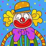 Clown wallpaper Stock Images