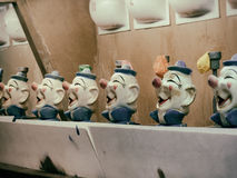 Clown Water Gun Game Stock Foto