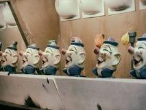 Clown Water Gun Game Stock Photo