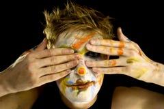 Clown1 Fotos de Stock