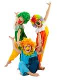 Clowne Stockbild