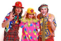 Clowne Stockfoto