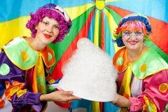Clowne bilden Spaß Lizenzfreies Stockbild