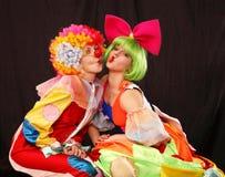 clowner royaltyfria foton