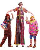 clowner Arkivbilder