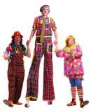 clowner Royaltyfria Bilder