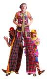 clowner Arkivfoto
