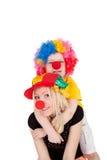 clowner Royaltyfri Bild