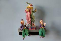 clowner Fotografering för Bildbyråer
