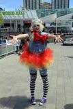 Clowness Στοκ Φωτογραφίες