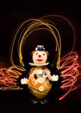 clownexponeringsglas Royaltyfri Foto