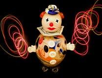 clownexponeringsglas Royaltyfri Bild