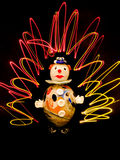 clownexponeringsglas Royaltyfria Foton