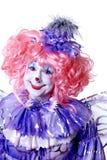 clownfekvinnlig Arkivbilder
