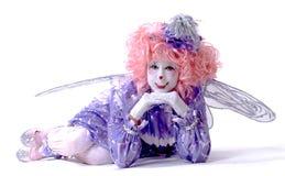 clownfekvinnlig Arkivfoton